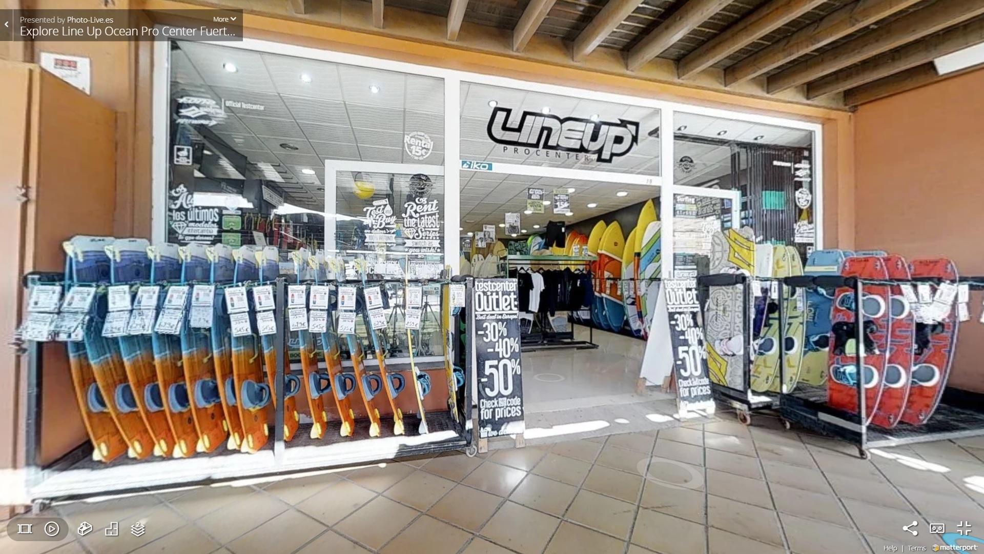 Line Up Surf Store - Corralejo - Fuerteventura